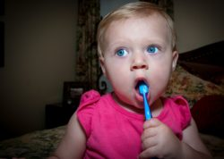 Baby's First Toothbrush