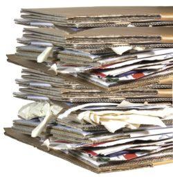Cardboard Recycling Bin For All Purpose