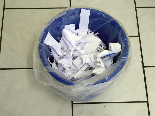 My Paper Recycling Bin To Use For Society